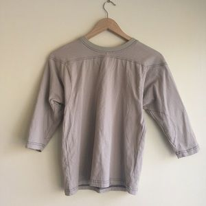 UO Neutral Mid Sleeve Shirt